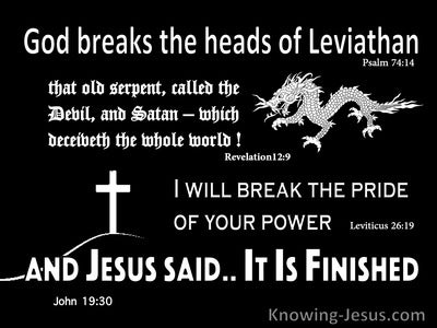 Have You Considered Leviathan (devotional) (black) - Psalm 74:14